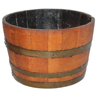 19Thc Wine Barrel / Container for Grapes For Sale