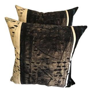 Hb Home Designer Velvet Pillows - a Pair