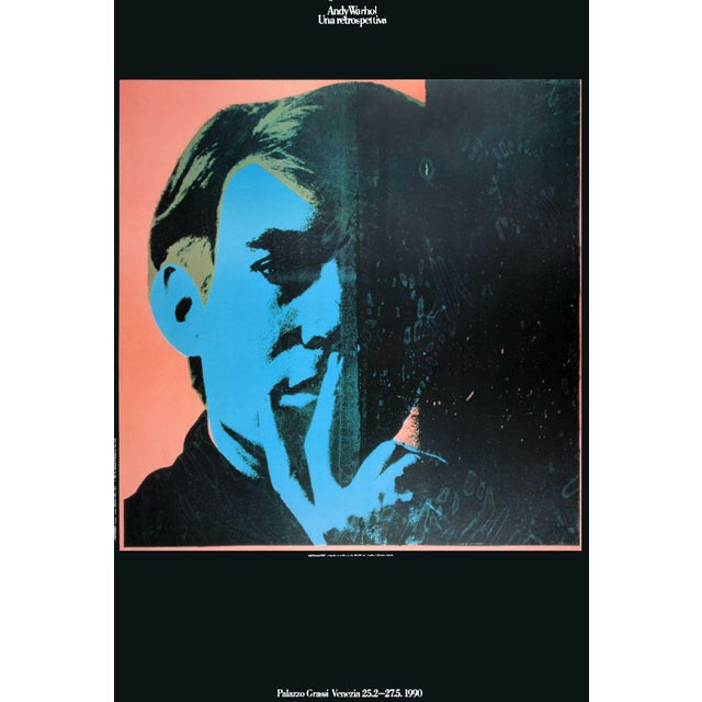 Andy Warhol-Self-Portrait-1990 Poster - Image 1 of 3