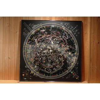 Framed Map of The Universe Preview