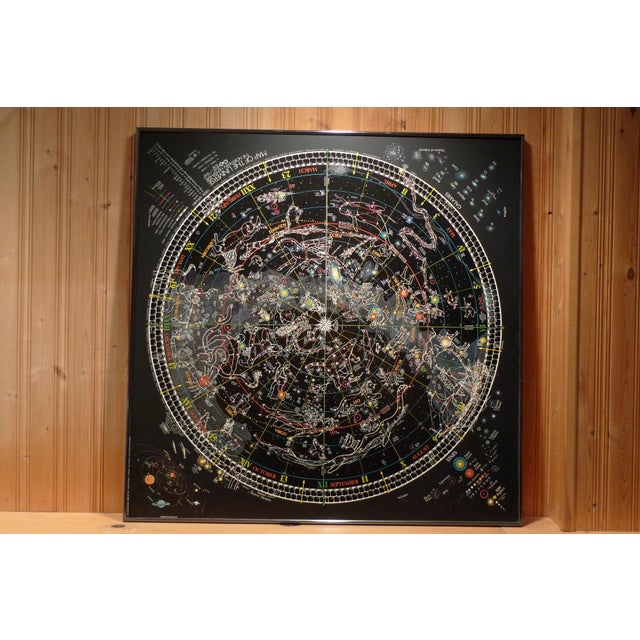 Framed Map of The Universe - Image 2 of 3