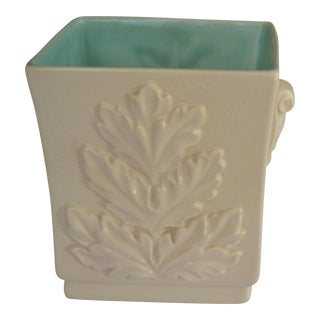 Red Wing Blue & Cream Planter