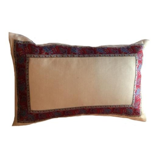 "This stylish pair of pillows are the perfect accent for a bed, chair, or living space. Each pillow is 25"" x 16"", cream..."