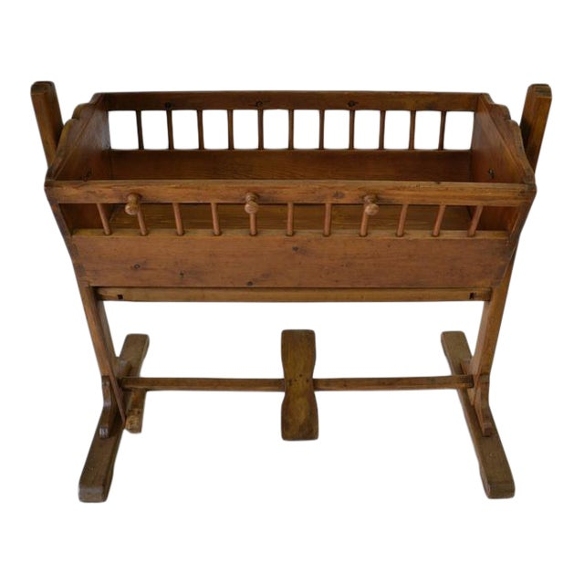 Pine Rocking Cradle For Sale