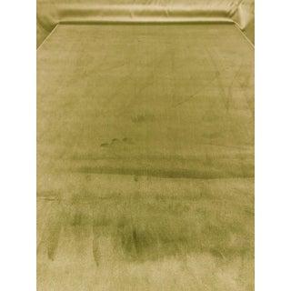 Kravet Smart Green Solid Velvet Multipurpose Fabric - 8 Yards For Sale