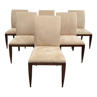 "Dessin Fournir ""Werth"" Dining Chairs- Set of 6 For Sale"