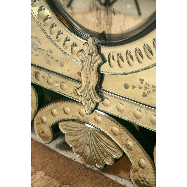 Monumental Venetian Mirrors - A Pair - Image 7 of 8
