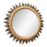 Image of Line Vautrin Blue Talosel Soleil Mirror