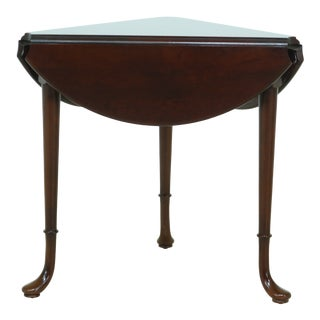 Statton Old Towne Cherry Triangle Drop Leaf End Table For Sale