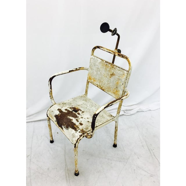 Early 20th Century Vintage Medical Chair For Sale - Image 5 of 7