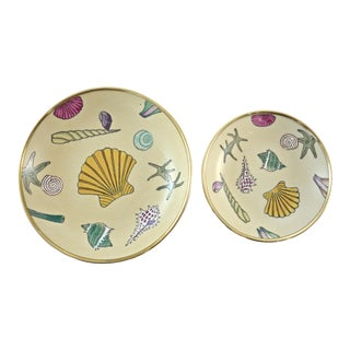 Seashell Catchalls - a Pair