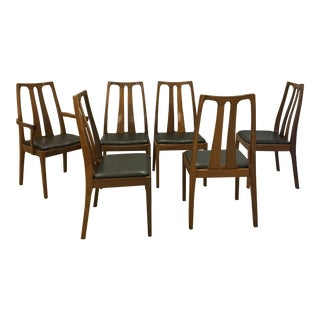 Danish Modern Teak Dining Chairs by Nathan of Britain For Sale