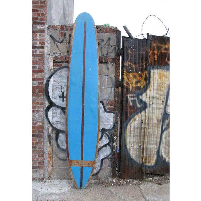 60s 10' Duke Kahanamoku Blue Surfboard - Image 2 of 5