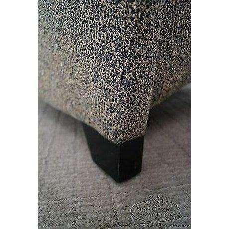 Black Thomasville Casa Bique Leopard Print Club Lounge Chair For Sale - Image 8 of 13
