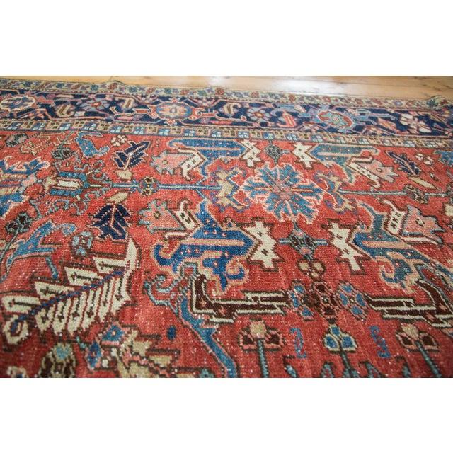 "Vintage Heriz Carpet - 7'6"" X 11'1"" - Image 7 of 10"