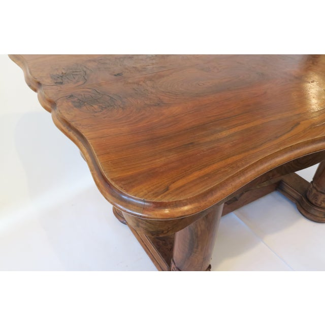 Beidermeier Style Dining Table - Image 5 of 8