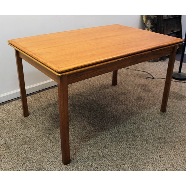 Mid-Century Danish Modern Teak Dining Table - Image 2 of 10