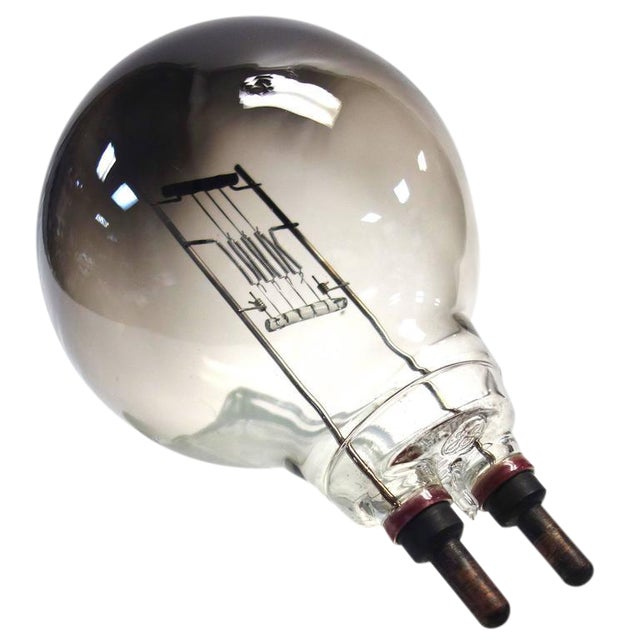 Vintage CINEMA Spotlight Light Bulb. Display As Sculpture. EX Paramount Studios. Circa 50's For Sale