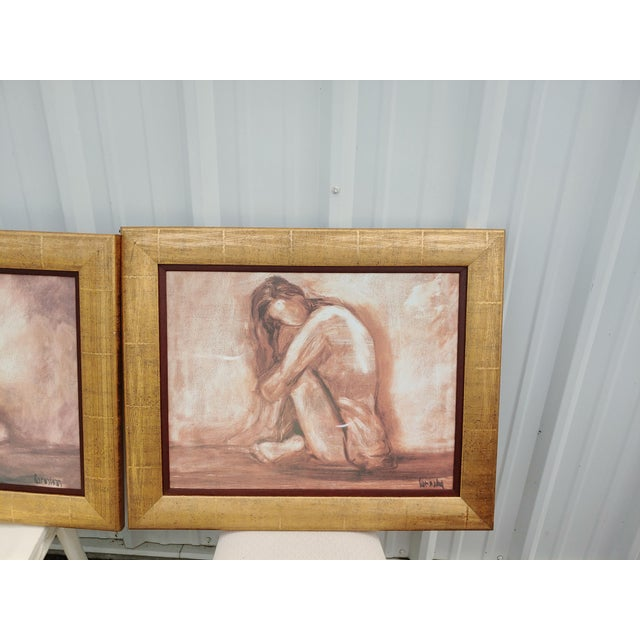 Abstract Figurative Painting Prints - Set of 2 For Sale - Image 3 of 5