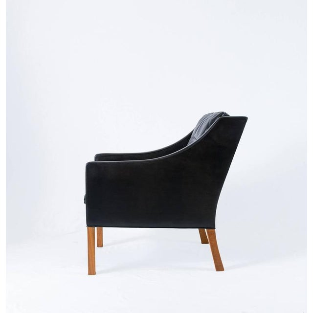 Borge Mogensen Model #2207 Leather Lounge Chair - Image 4 of 10