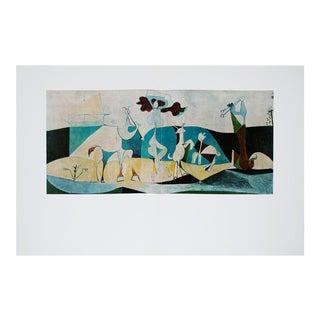 Picasso La Joie De Vivre Large Photogravure