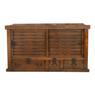 Outstanding 19th Century Japanese Todana Tansu Cabinet For Sale