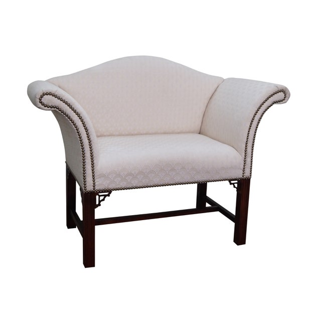 Chippendale-Style Settee Bench For Sale