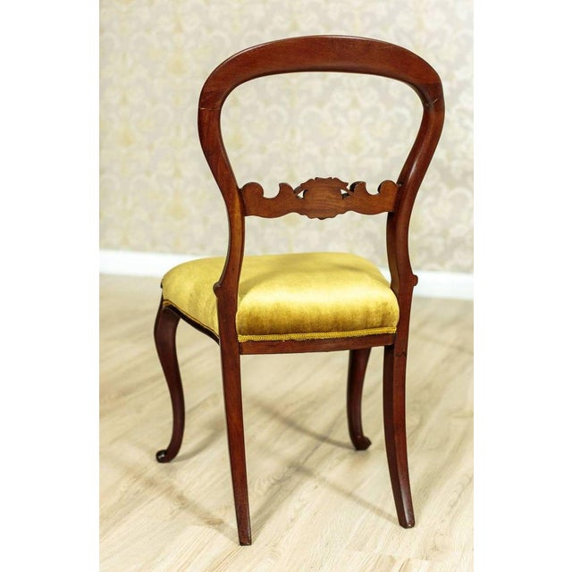 Late 19th Century 19th Century Louis Philippe Mahogany Chairs Circa 1880 - Set of 4 For Sale - Image 5 of 8