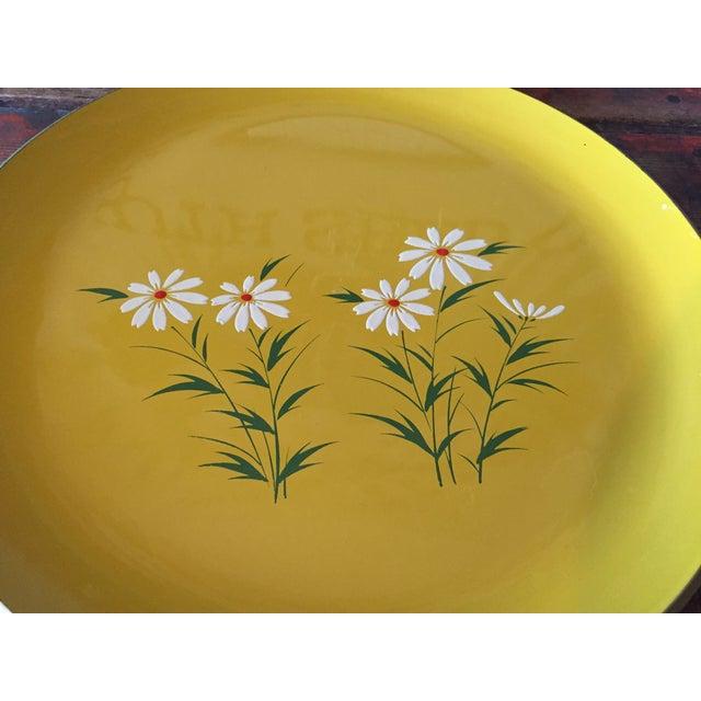 Hand Painted Yellow Daisy Tray - Image 3 of 6