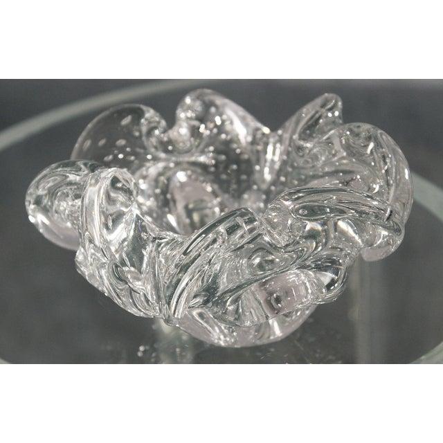 Vintage Murano Glass Flower Bowl - Image 5 of 11