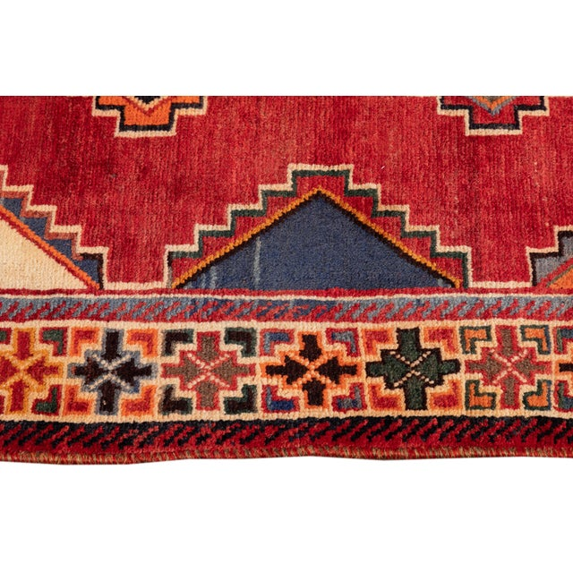 Mid 20th Century Mid 20th Century Vintage Rug For Sale - Image 5 of 9