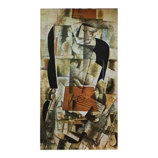 """1940s Georges Braque, """"Woman With the Guitar"""" Original Period Swiss Lithograph For Sale"""