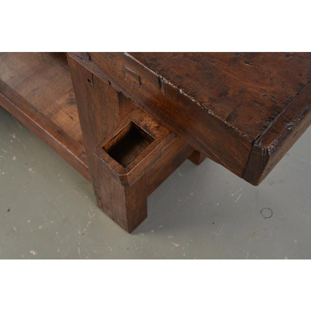 Brown French 19th Century Work Bench For Sale - Image 8 of 13