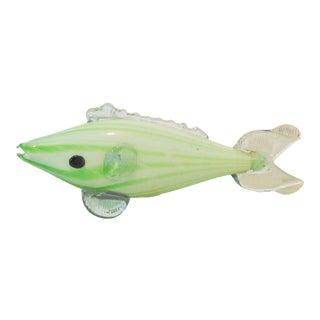 Murano Glass Fish Figure For Sale