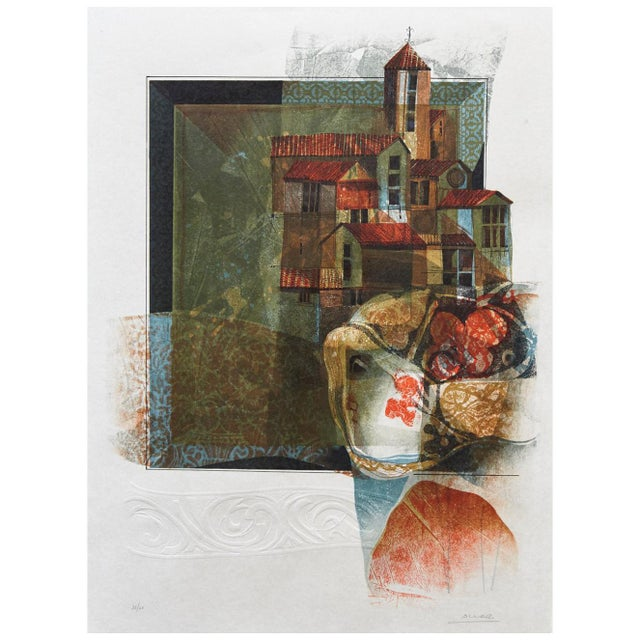Alvar Sunol Munoz-Ramos, Untitled, Signed and Numbered, # 63/80, 1981 For Sale - Image 11 of 11