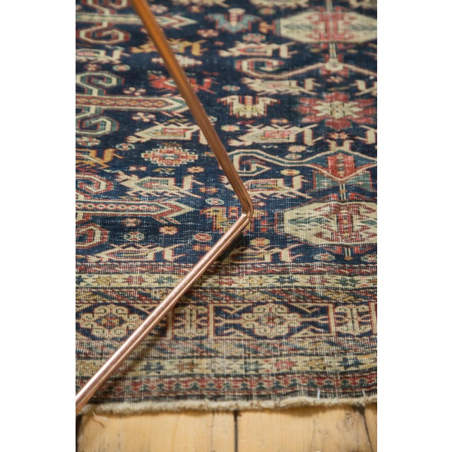 """Antique Shirvan Rug - 4'3"""" x 6'7"""" For Sale - Image 10 of 11"""
