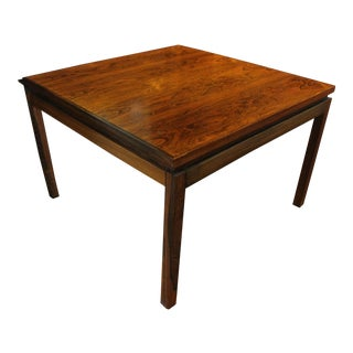 Mid-Century Modern Rosewood Low Table For Sale