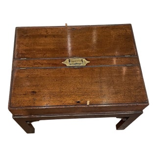 Rare English 18th Century Document Box For Sale