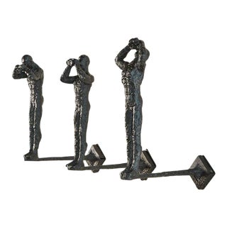 Global Views 3 Wall Sculptures - Set of 3 For Sale