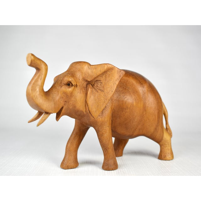 Item Details: -A symbol of good luck and a showcase of style, this elegant elephant figurine looks great in anyplace...