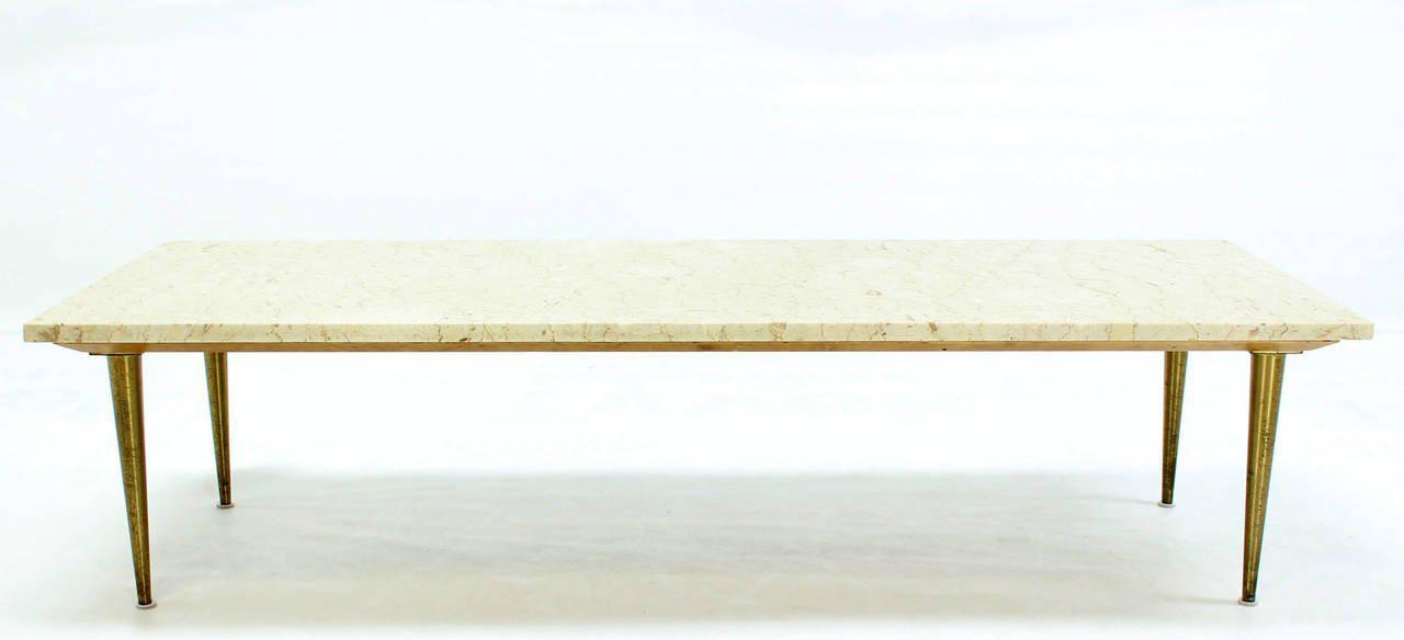 Mid Century Modern Marble Coffee Table