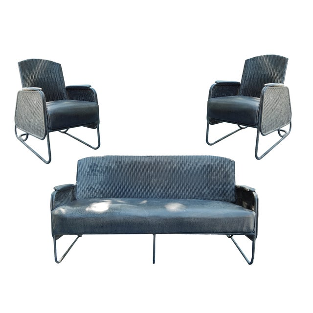 Deco Patio Chairs and Settee - 3 - Image 1 of 7