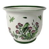 Image of Late 20th Century Ceramic Floral Planter For Sale