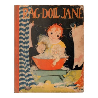 "1935 ""Rag-Doll Jane: Her Story/Her Pictures"" Coffee Table Book For Sale"