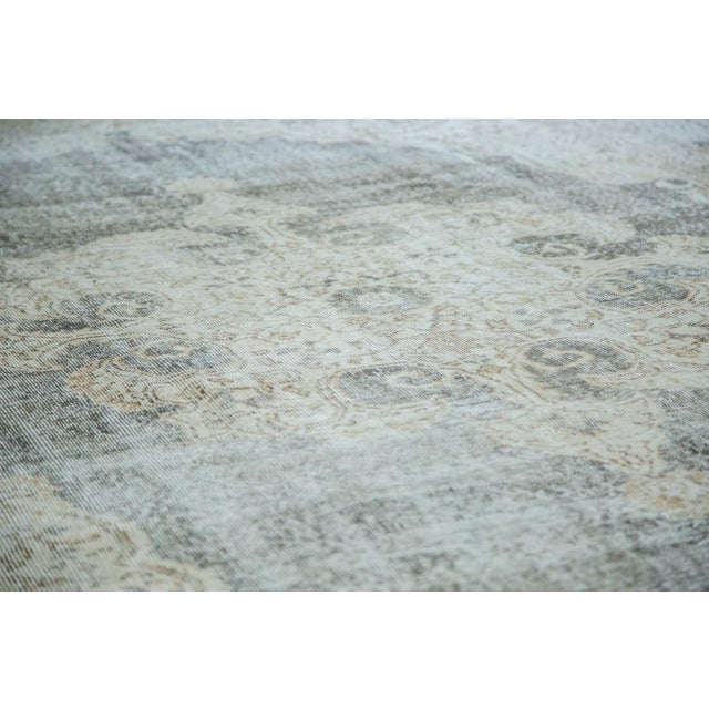"Distressed Scalloped Oushak Carpet - 6'10"" x 10'3"" - Image 5 of 5"