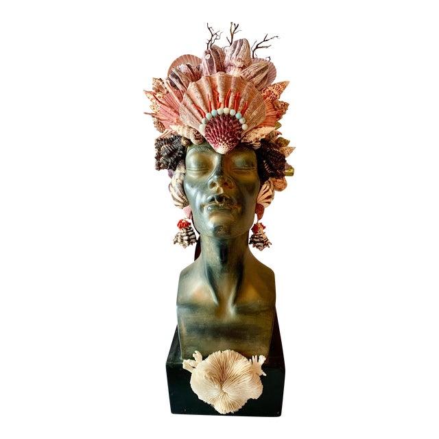 Memsaab Ungawa Ll African Princess Sculpture For Sale