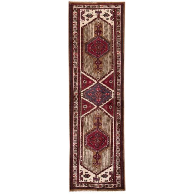 "Apadana - Vintage Persian Rug, 3'6"" x 11'9"" For Sale - Image 5 of 5"