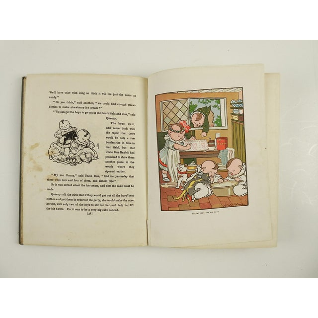 """Happifats & the Grouch"" 1917 Book For Sale - Image 5 of 7"