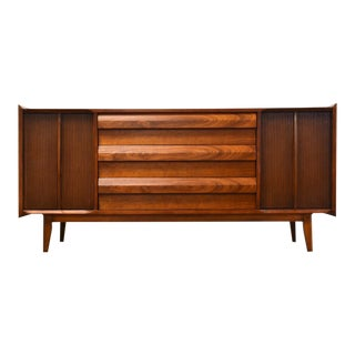 Walnut Lane First Edition Credenza For Sale