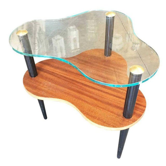 Gilbert Rohde Two-Tier Mid-Century Cloud Coffee Table For Sale - Image 10 of 10